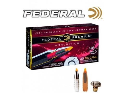 338 WM Federal Trophy Bonded Tip 200gr