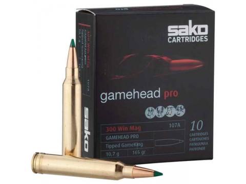 300 wm Sako Gamehead Pro / 165gr 10 unidades