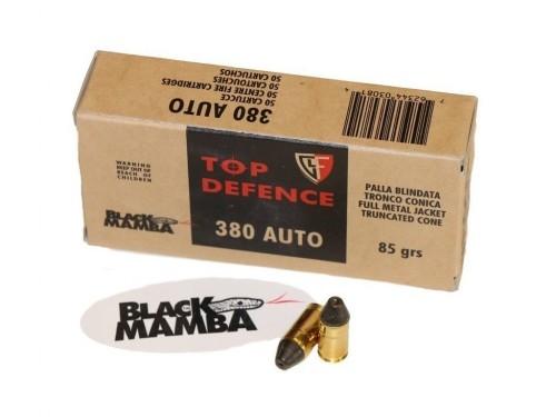 380 AUTO Fiocchi  (9mm Corto) BlackMamba FMJTC 85gr
