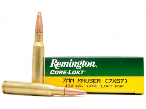 7x57 Remington Core Lokt PSP 140gr