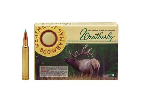 300 Wtby Mag Weatherby BST/165gr