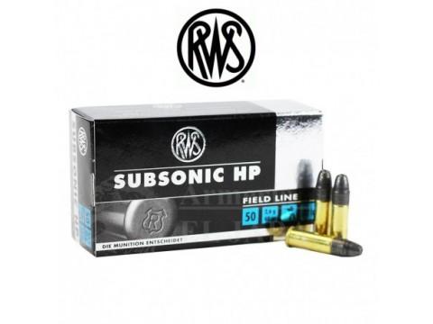 22LR RWS Subsonic/40gr