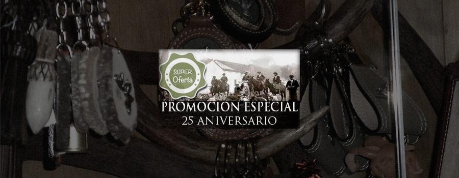 Celebra con nosotros el 25 Aniversario de Armería La Caza de Toledo