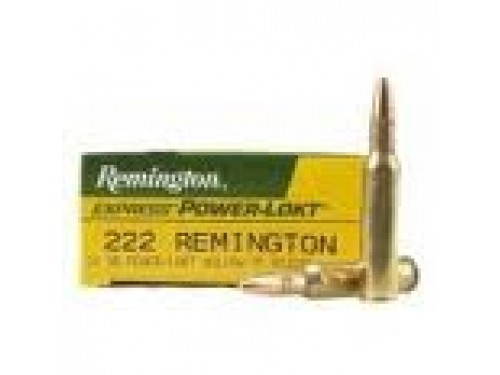 222 Rem Remington Core Lokt PSP/50gr