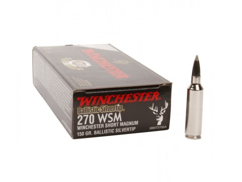 270 WSM Winchester Supreme BST/150Gr