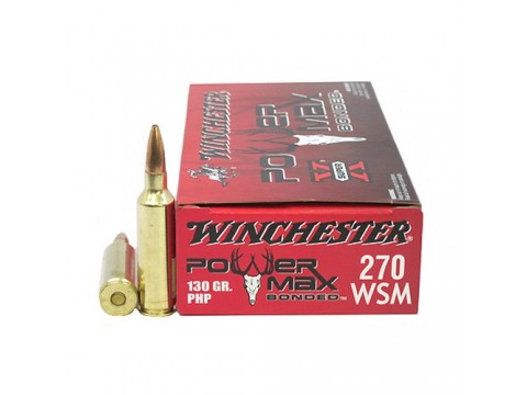 270 WSM Winchester PowerMax/130gr