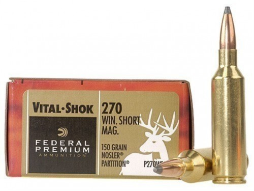 270 WSM Federal Nosler Partition/150gr