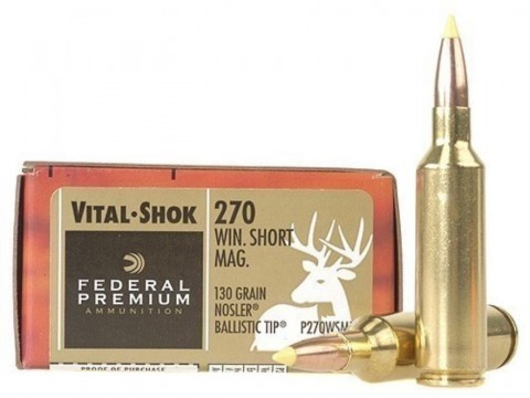 270 WSM Federal Nosler BST/130gr
