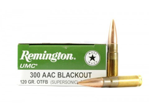 300 AAC Blackout Remington OTFB/120gr