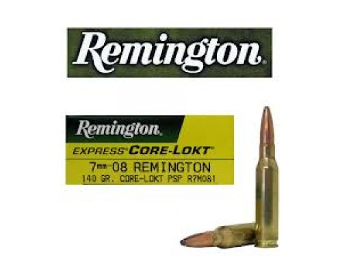 7mm-08 Rem Remington Core Lokt/140Gr