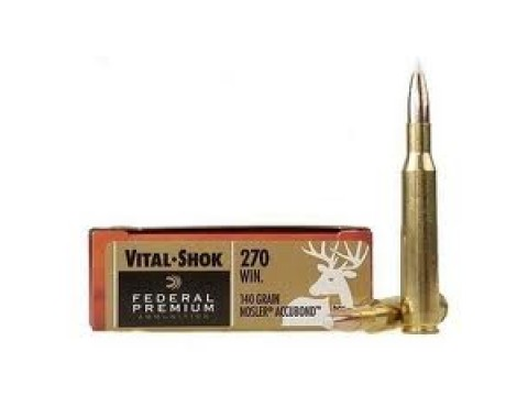 270 WIN Federal Premium Nosler Accubond/140Gr
