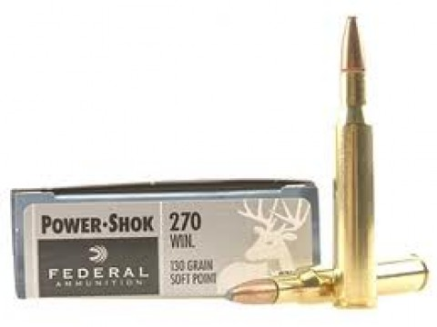 270 WIN Federal Classic SP/130Gr