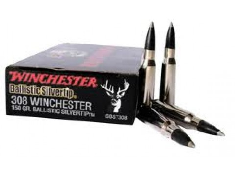 308 Win Winchester Supreme BST/150Gr