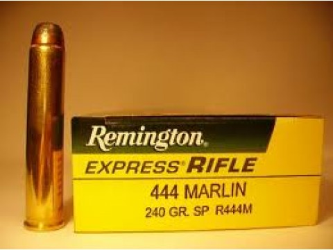 444 Marlin Remington SP/240Gr