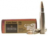 416 RIGBY Federal Premium Trophy Bonded Bear Claw/400Gr