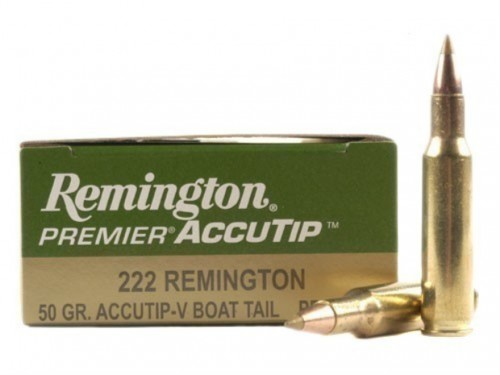 222 REM Remington Accutip/50Gr
