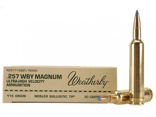 257 Wtby Mag Weatherby BST/115Gr