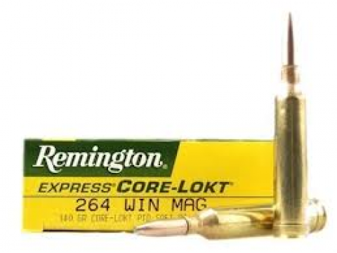 264 Win Mag Remington PSP/140gr