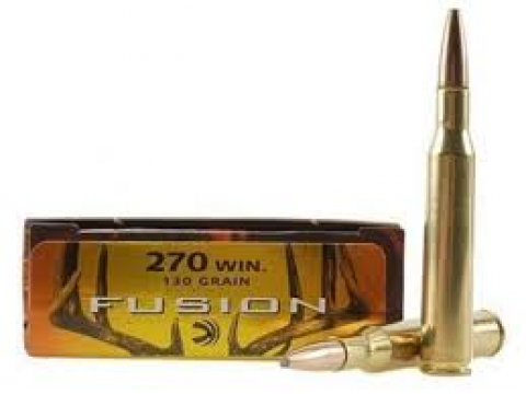 270 WIN Federal Fusion 130gr