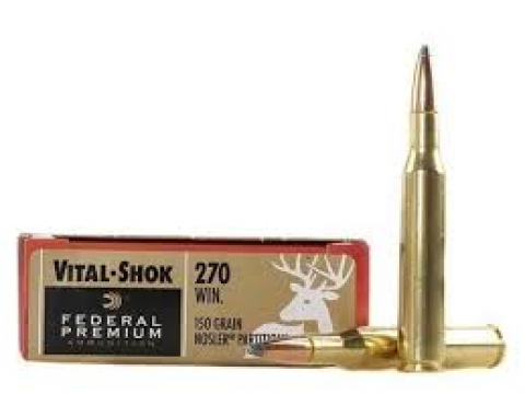 270 WIN Federal Premium Nosler Partition 150gr