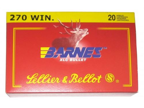 270 WIN Sellier Bellot XLC/130gr