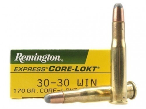 30-30 Win Remington Core Lokt SP/170Gr