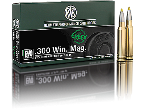 300 WM RWS EVO GREEN/136Gr