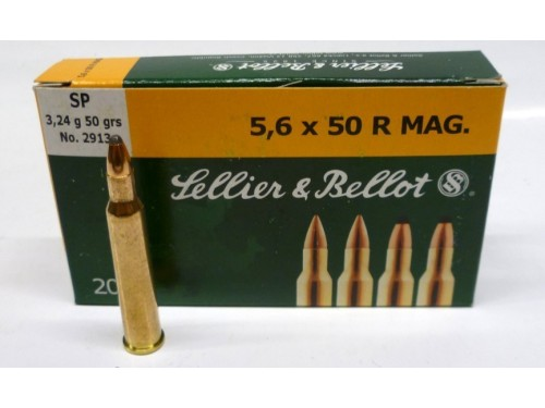 5,6x50R Sellier & Bellot SP/50Gr