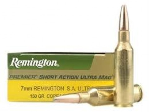 7mm Rem SAUM Remington Core Lokt PSP/150Gr