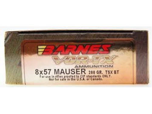 8x57 Mauser(IS) Barnes TSX BT/200gr