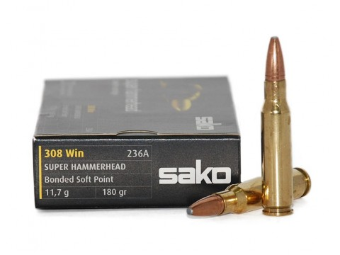 308 Win Sako Super Hammerhead 180gr/SP