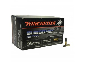 22LR Winchester Subsonic Max HP/42Gr