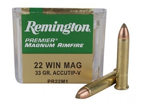 22 WMR Remington Accutip/33gr