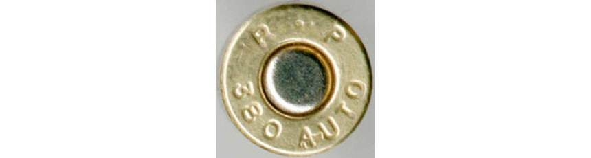 CALIBRE .380 (9mm Corto)