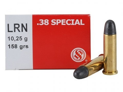 38 Special Sellier & Bellot LRN/158gr