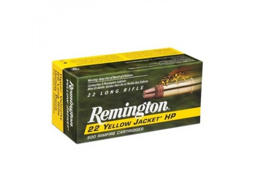 22LR Remington Yellow Jacket(avispa)/33gr