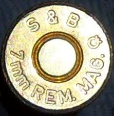 CALIBRE 7 mm REM. MAG.