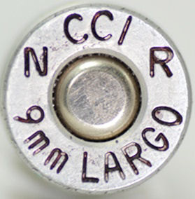 CALIBRE 9mm Largo (STEYR)